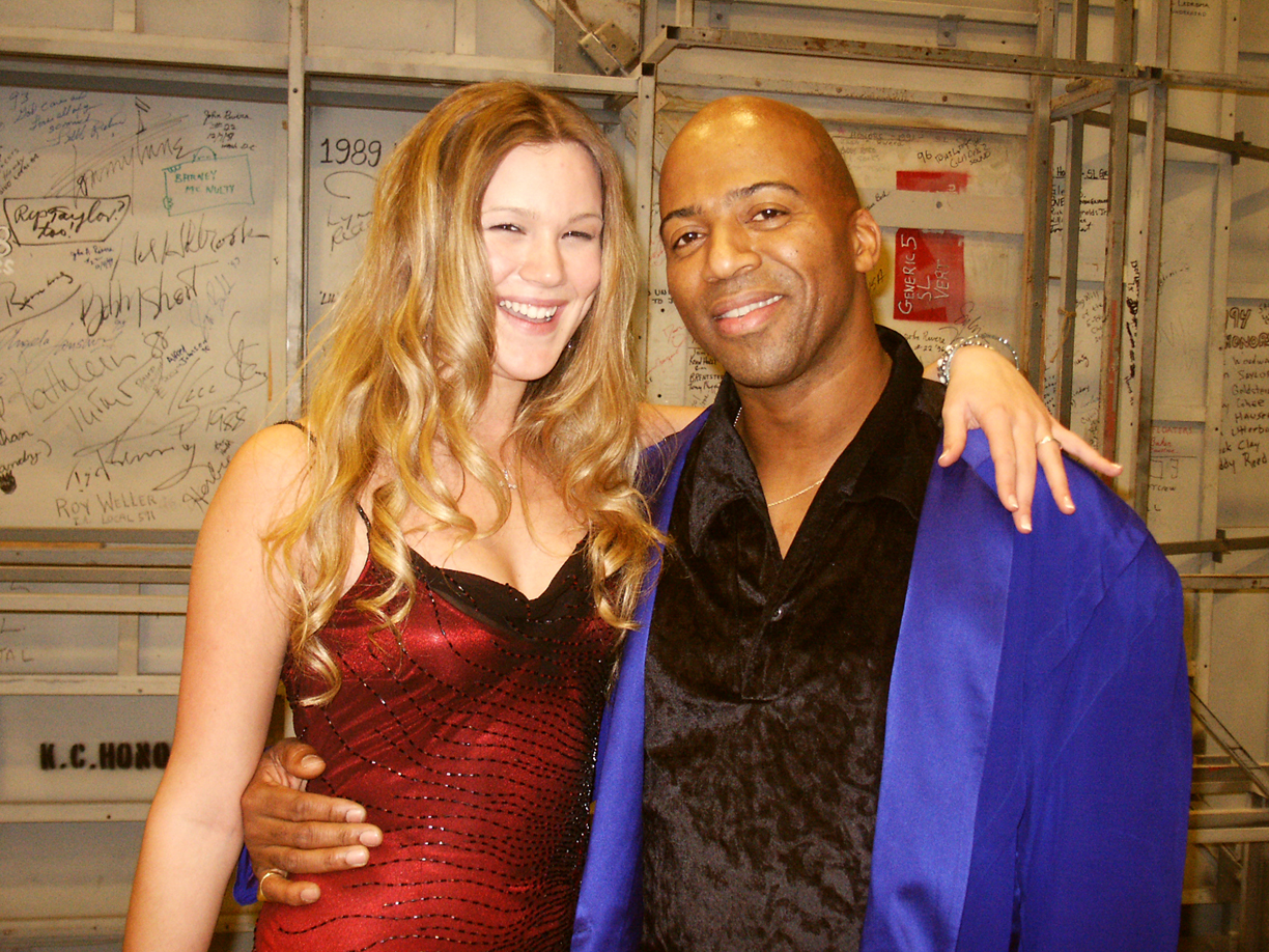 Joss Stone and Keith Robinson
