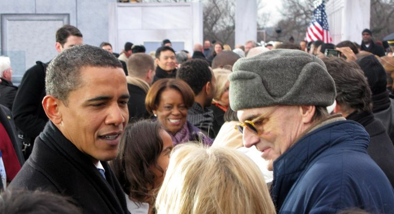 Barack Obama and James Taylor
