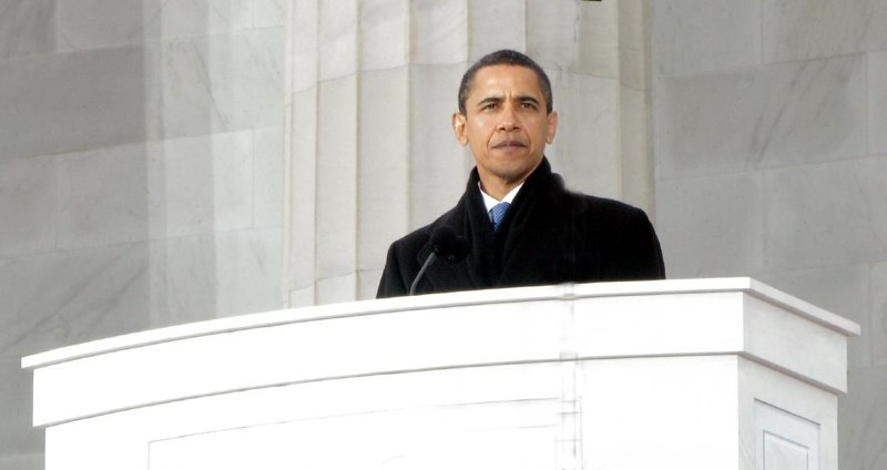 "President Barack Obama at Inauguration ""We are One',"