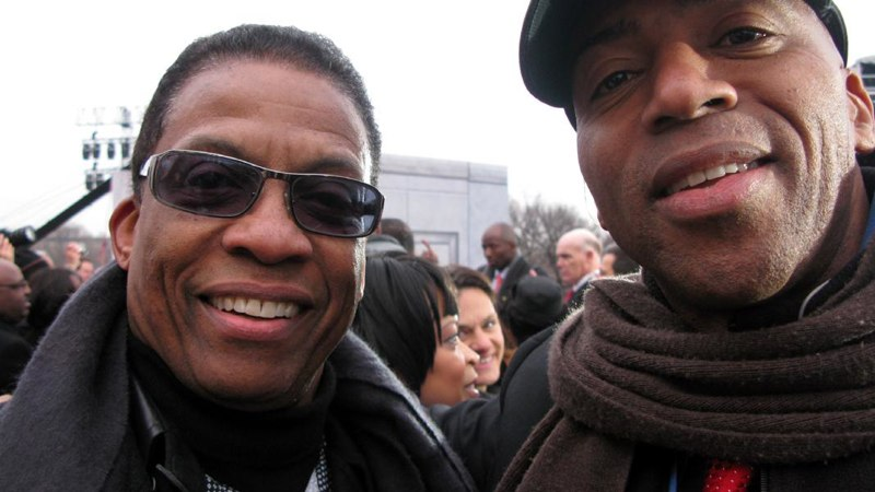 Herbie Hancock and Keith Robinson