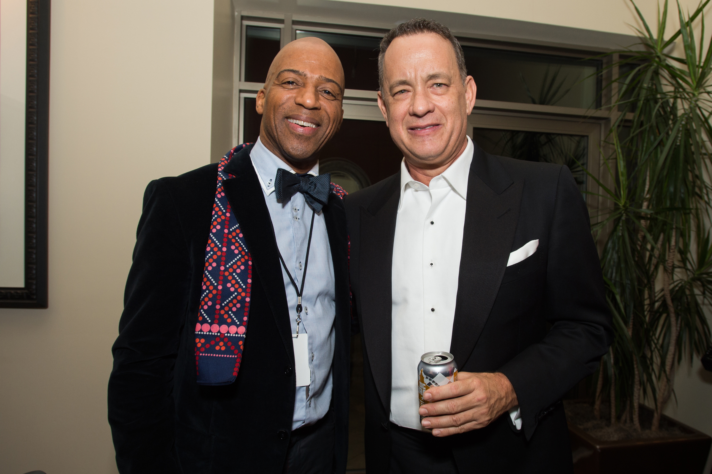 Keith Robinson and Tom Hanks