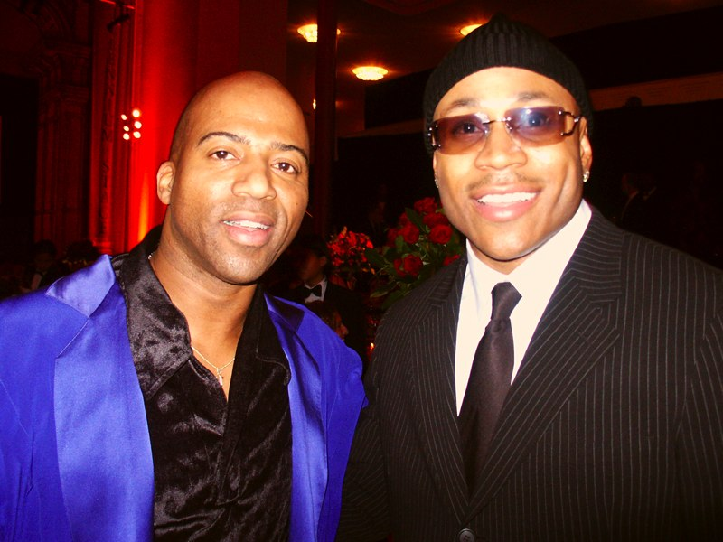Keith Robinson and LL Kool J