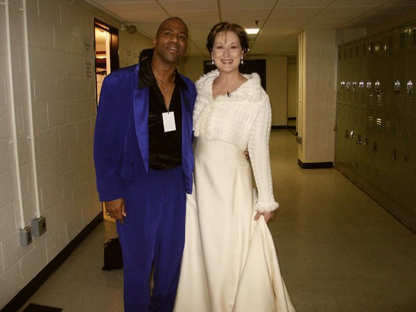 Keith Robinson and Meryl Streep