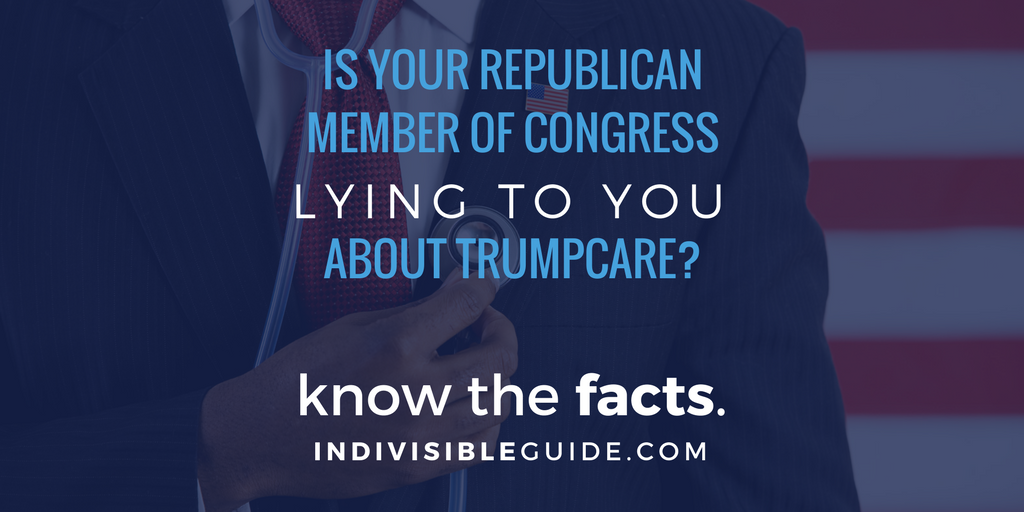 Republicans are lying