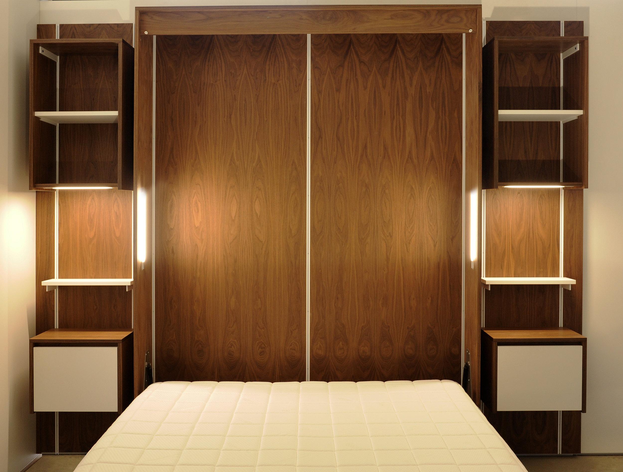 ATLAS Universal Wall System - eddy - modular, walnut, shelving, wall bed, cabinet, design, interior, bedroom.jpg