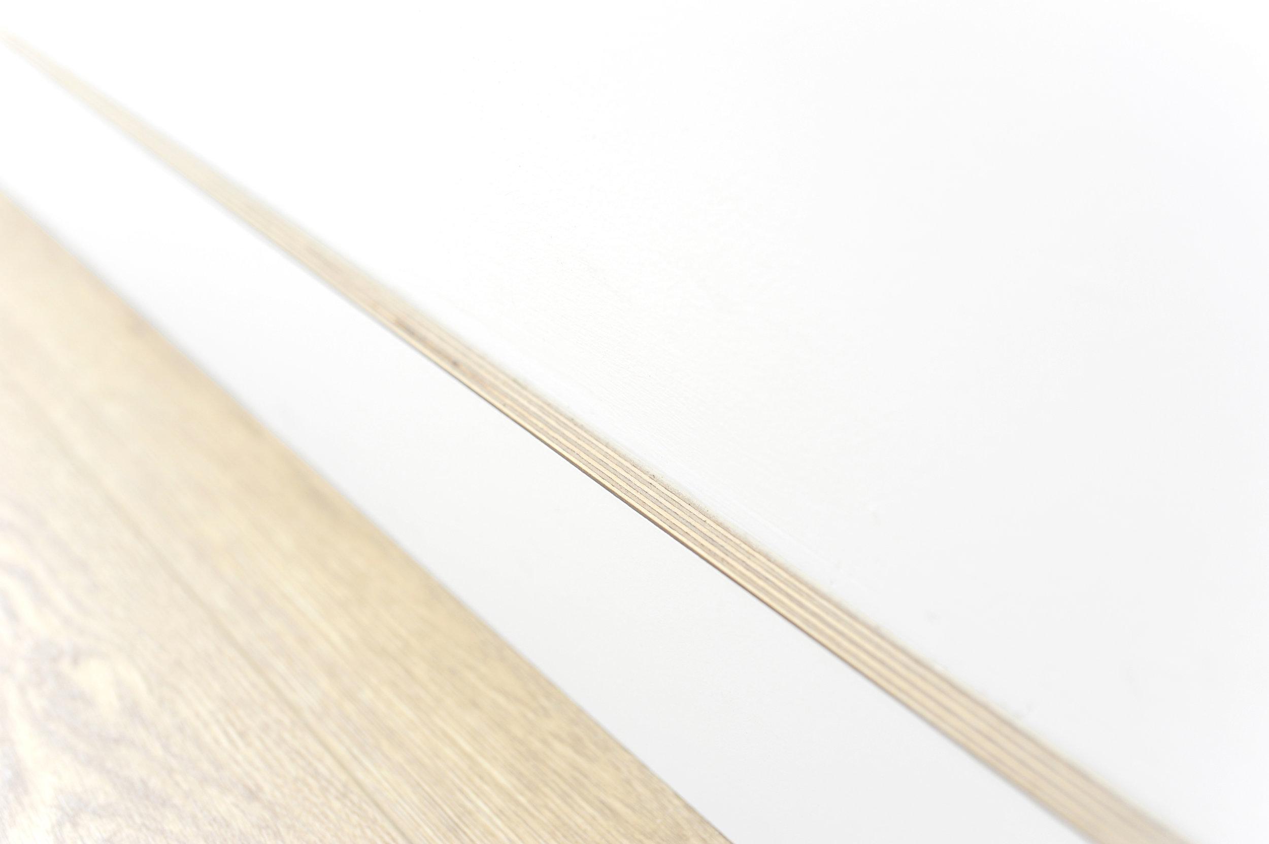 Birch Plywood Baseboard - -