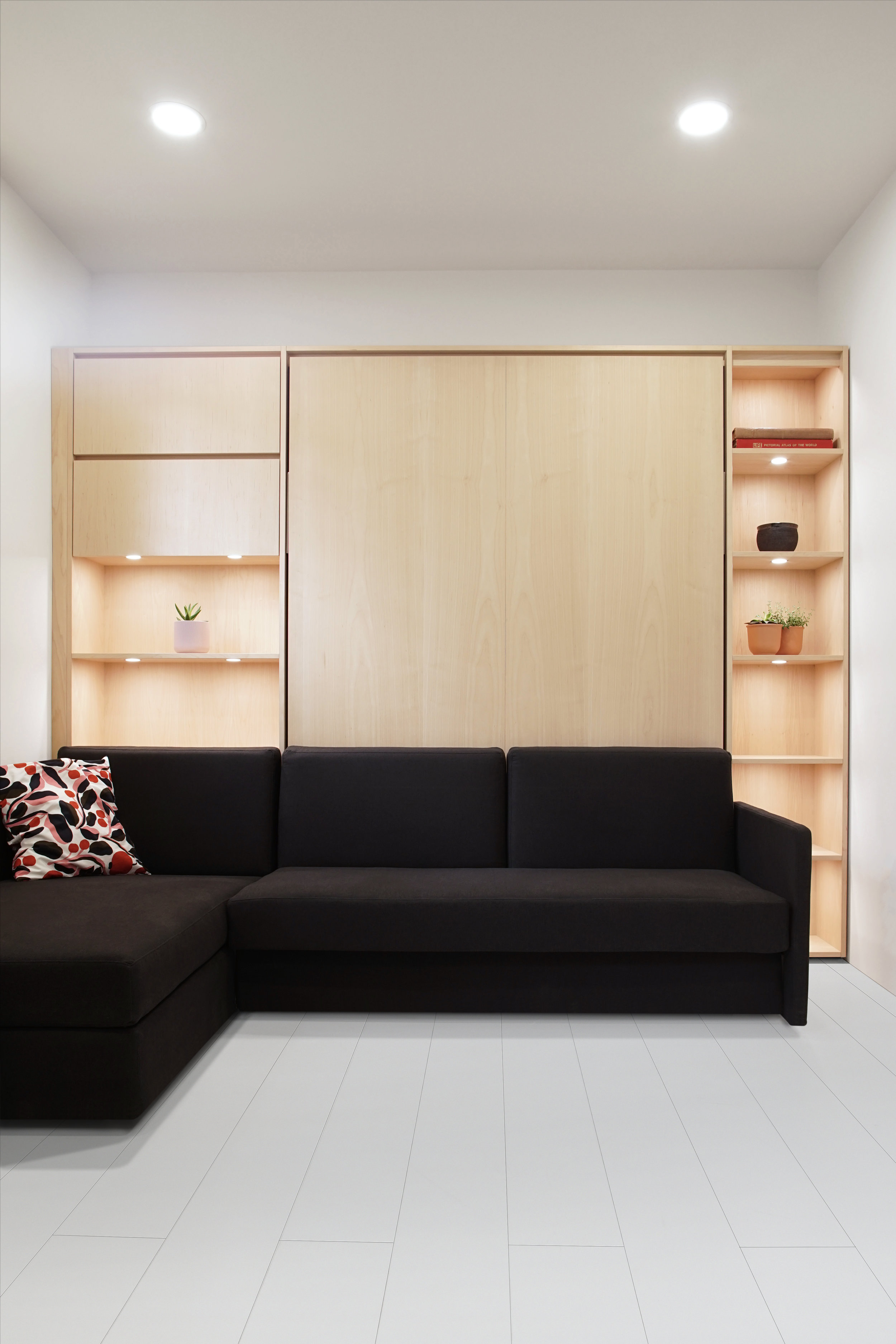 WALLBED Murphy BED CUSTOM FURNITURE BUILT-IN CABINETRY VANCOUVER INTERIOR DESIGN ANTHILL