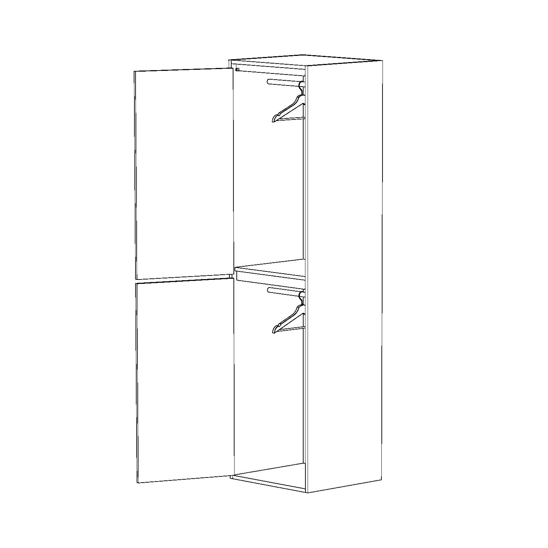 WARDROBE CLOSET CUSTOM FURNITURE BUILT-IN CABINETRY VANCOUVER ANTHILL STUDIO NEXUS