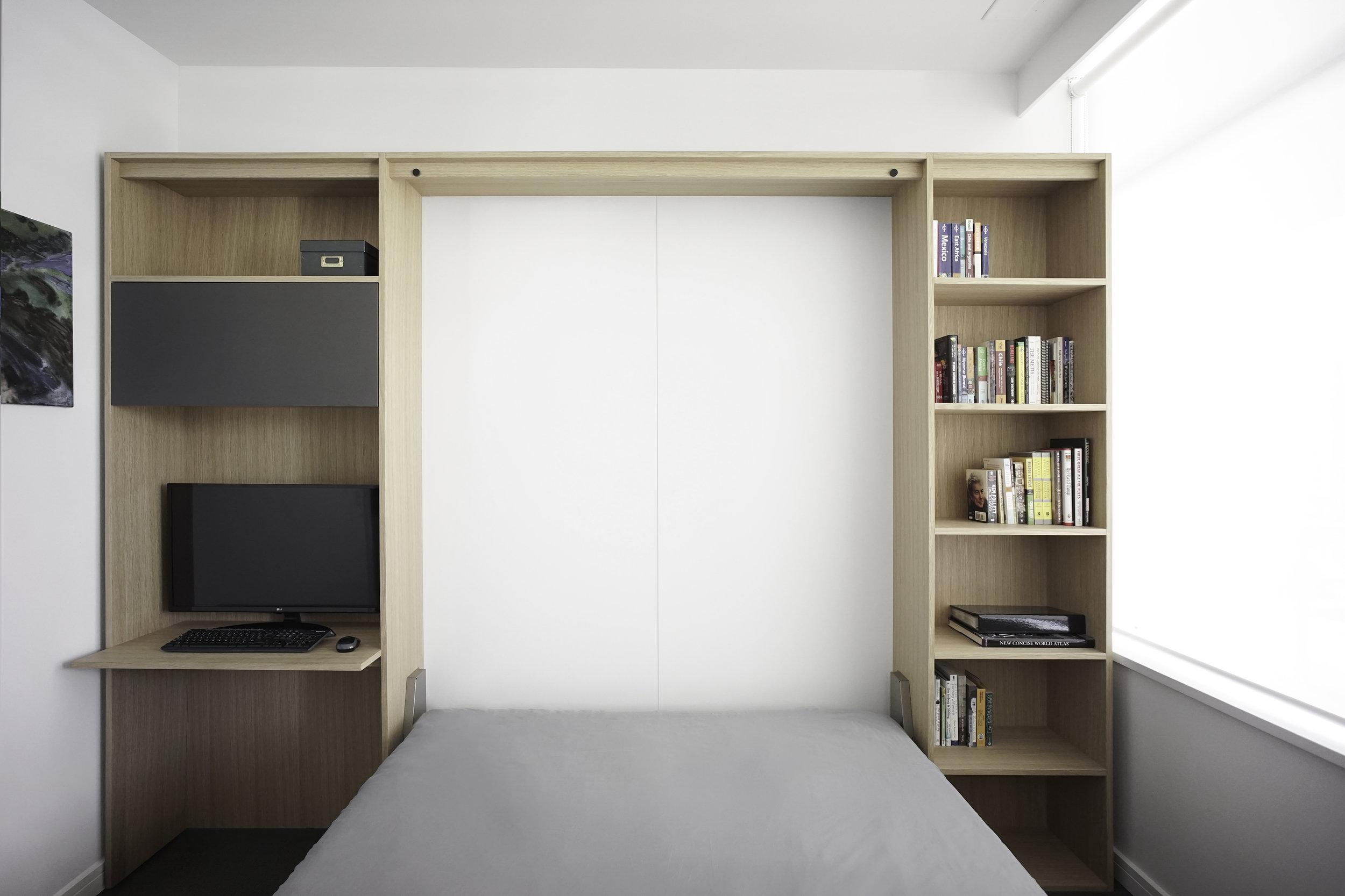 Murphy bed WALLBED CUSTOM FURNITURE BUILT-IN CABINETRY VANCOUVER ANTHILL STUDIO NEXUS