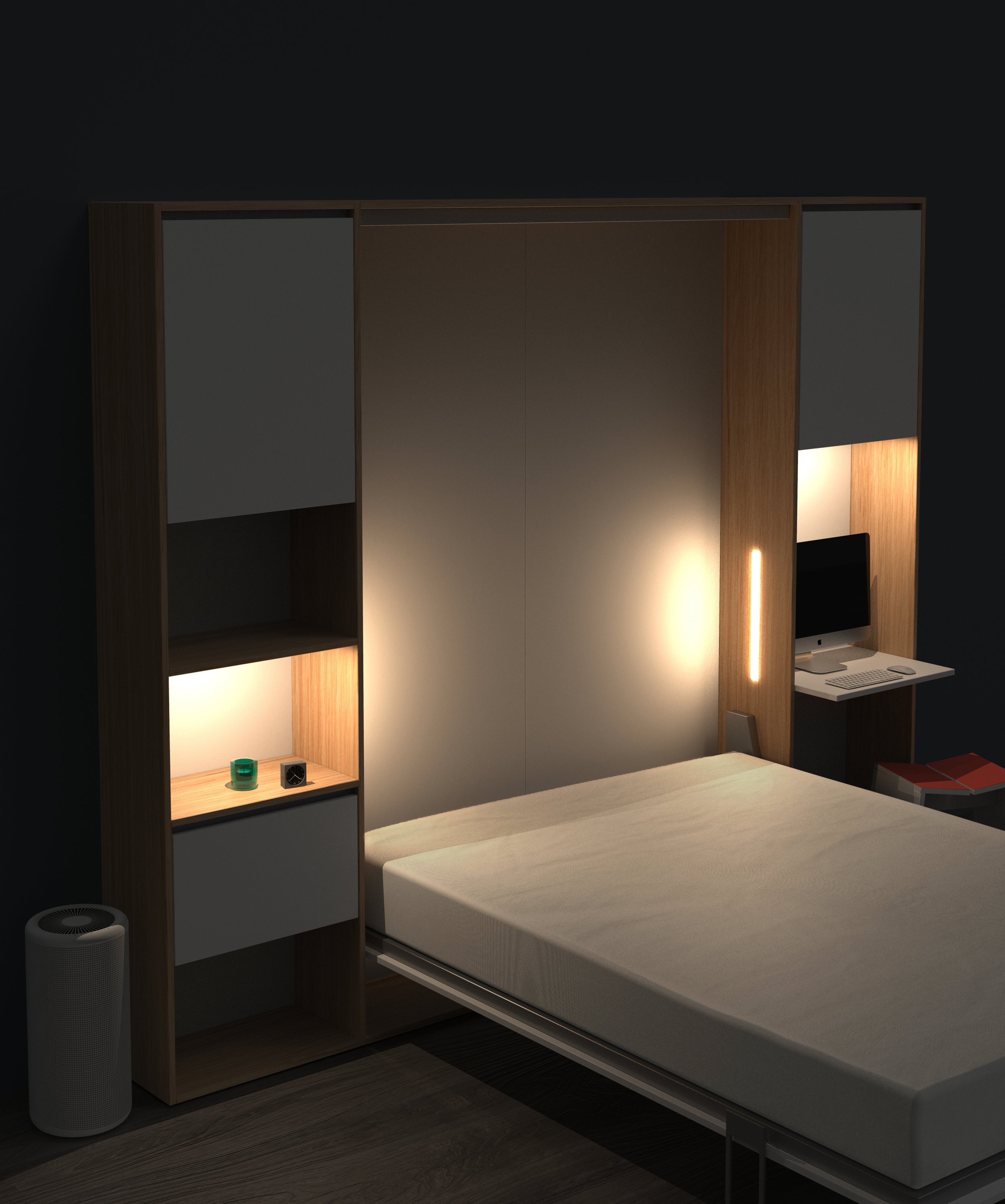 Wallbed Murphy bed Vancouver Anthill Nexus