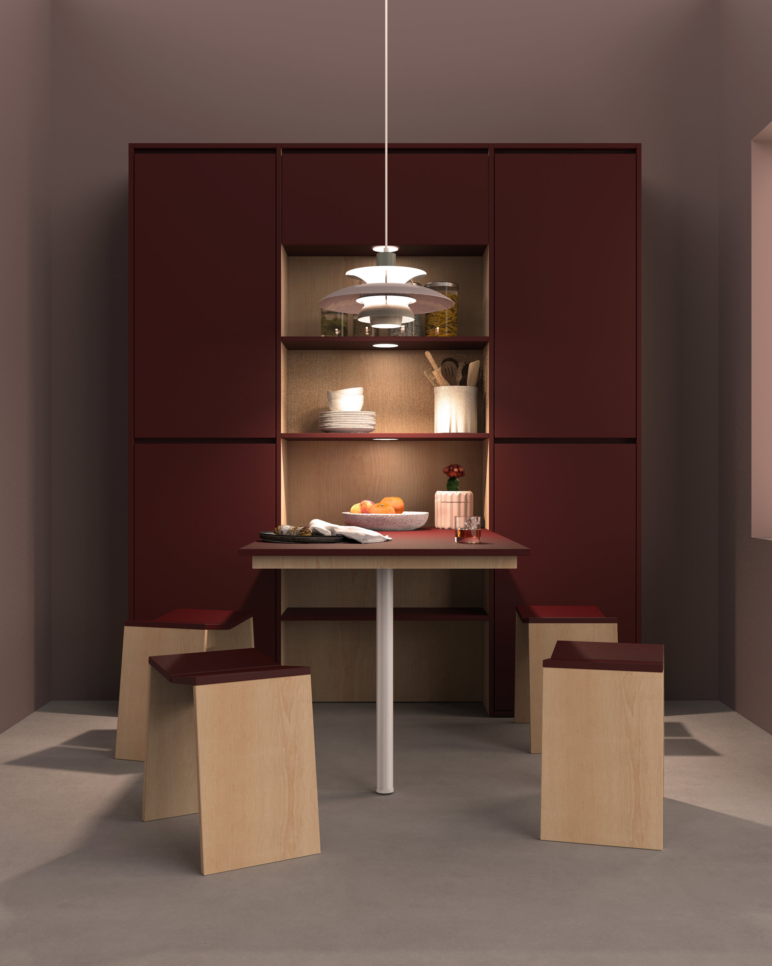 Built in Dining Table Custom Cabinetry Anthill Vancouver.jpg