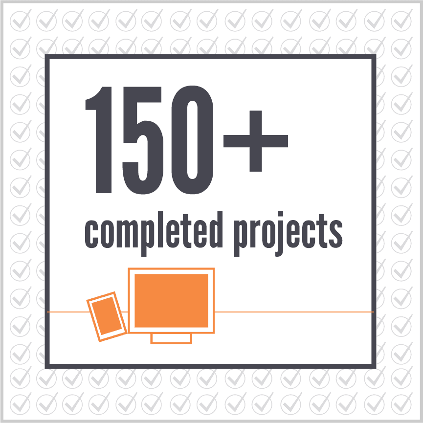 Copy of 150+ completed projects