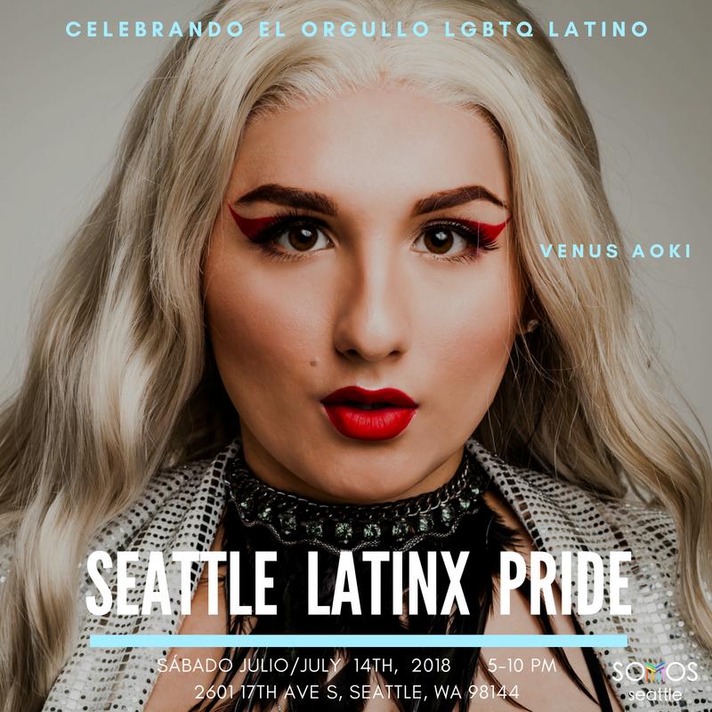 Venus. Latinx Pride 2018. Somos Seattle.png