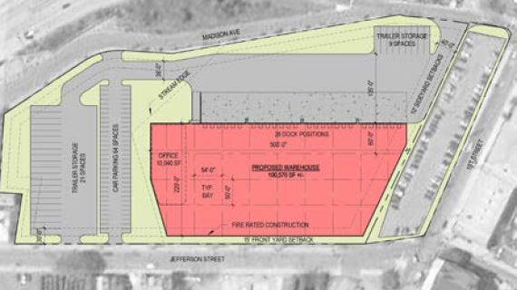 Year : 2018-2019   Size : 100,000 SF   Route 21  - 8.5 acre land development in northern NJ of the former Pantasote site. Redevelopment includes entering into a redevelopment agreement with the city and PILOT agreement. Site is a strong infill location in the Meadowlands West market, roughly 30 minutes outside of New York City.   Expected delivery - Q4 of 2019