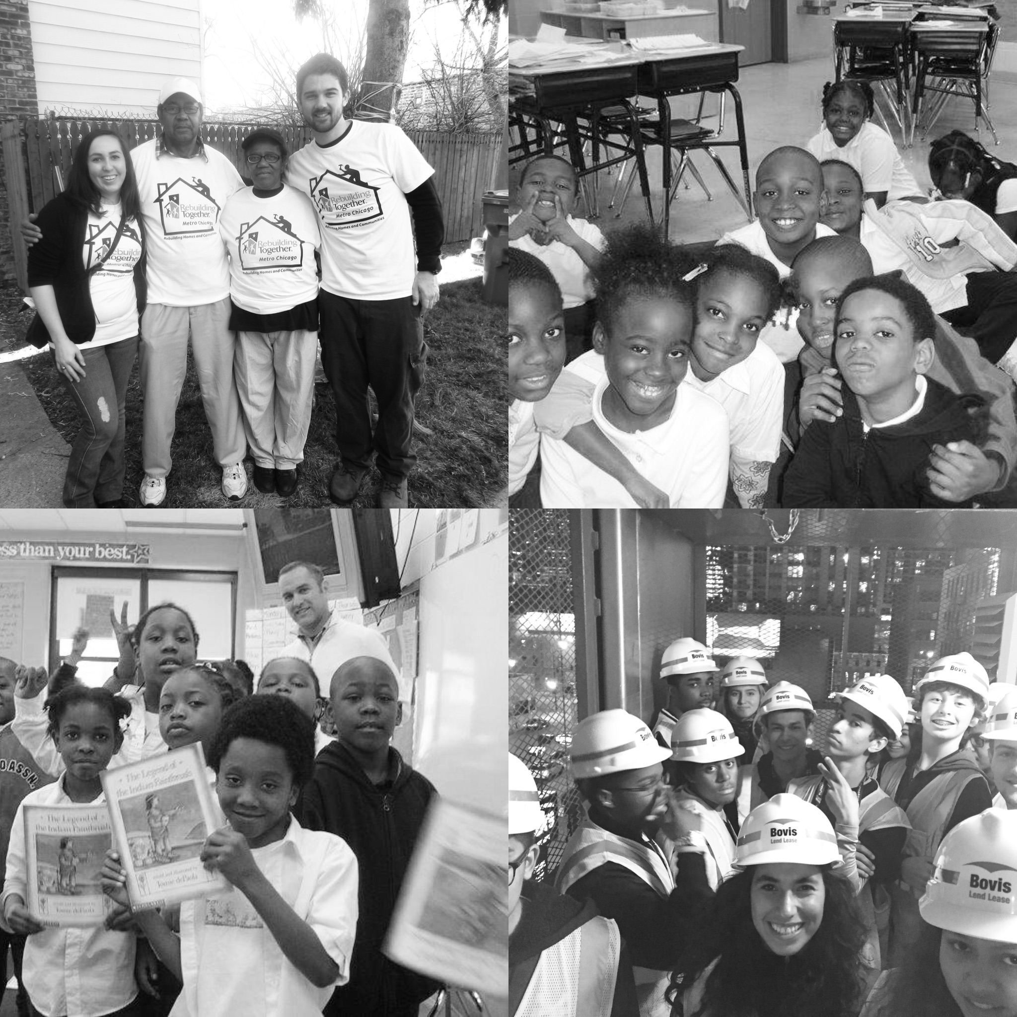 ECF runs entirely on donations and fundraising. We rely on your generous support to empower and improve the lives all around the Chicagoland area. - HELP US BUILD A BRIGHTER FUTURE.