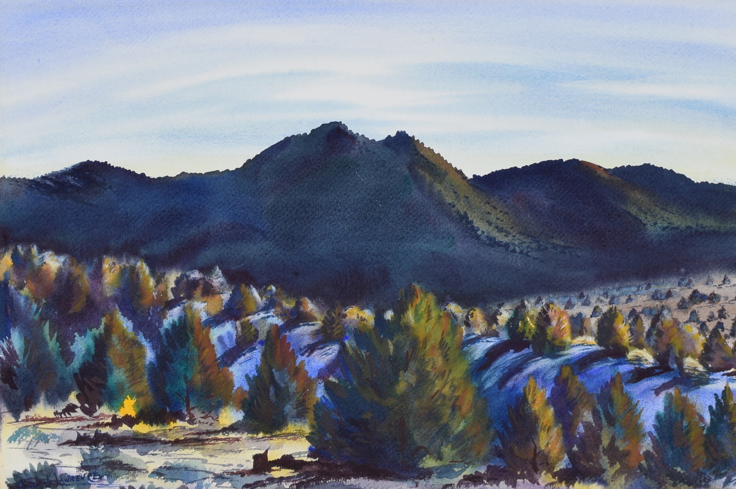 """Pinon Pines,"" James A. Lawrence (Sold)"