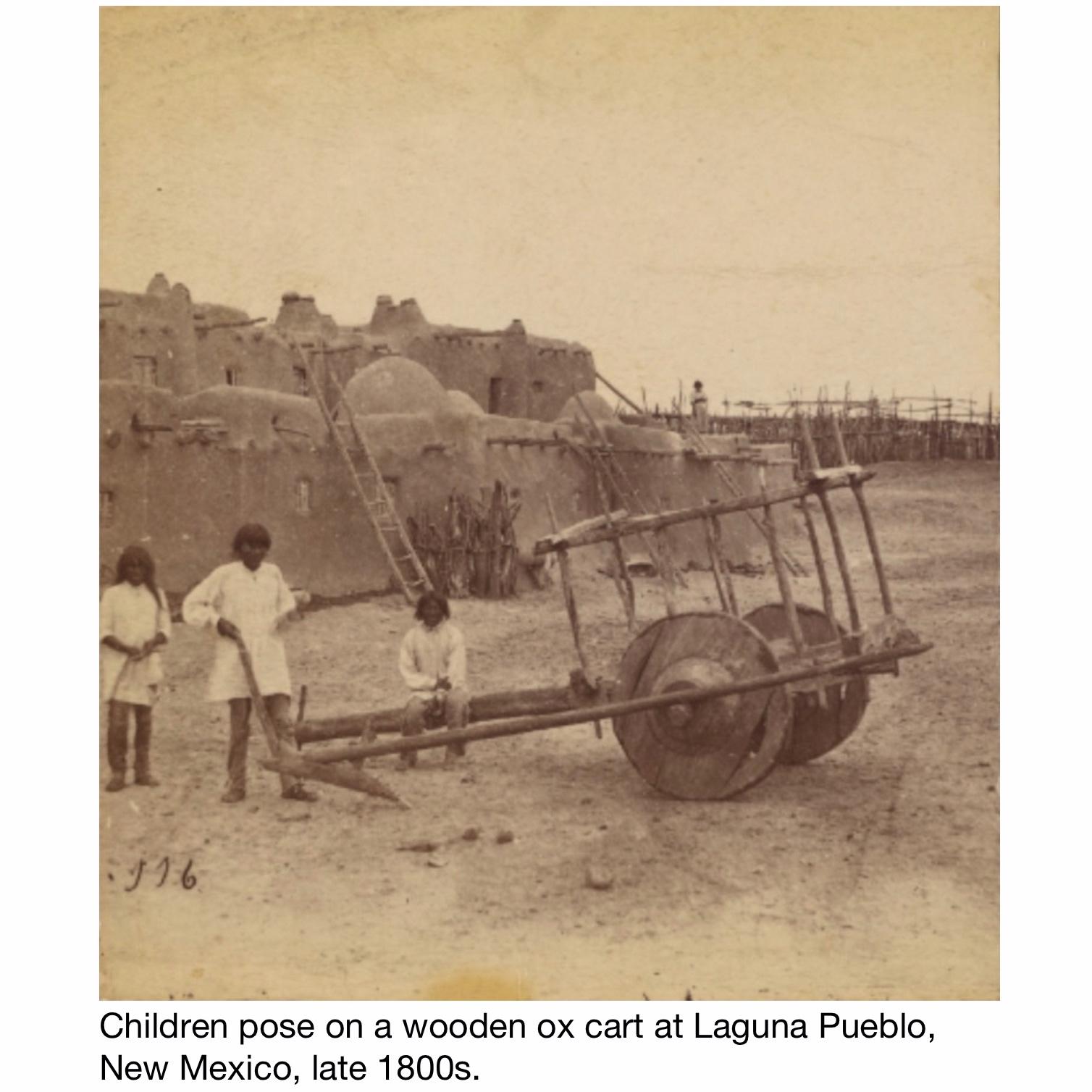 5_Ox cart at Laguna Pueblo, New Mexico.jpg