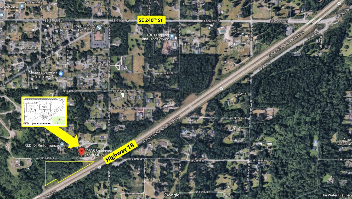 Hwy 18 Industrial/Office Development - 19835 SE 248th St, Maple Valley WA
