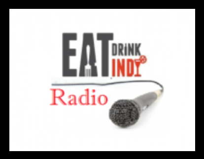 Eat Drink Indy Radio logo