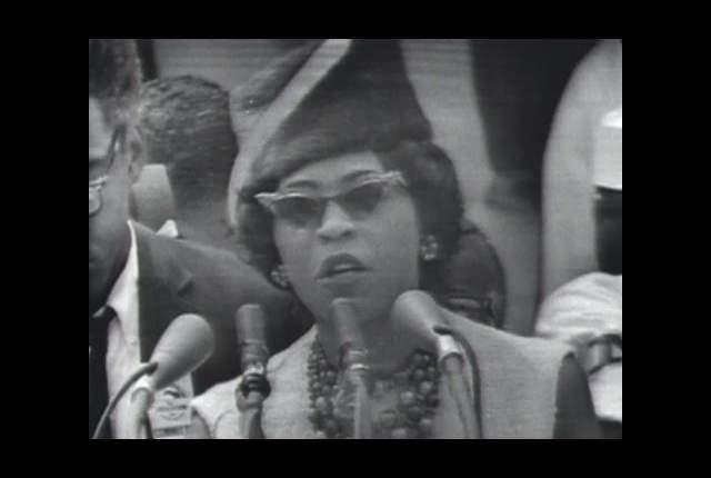 Daisy Bates at the 1963 March on Washington