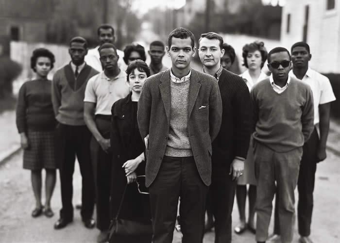 SNCC's Atlanta staff in 1963 (Photo by Richard Avedon)