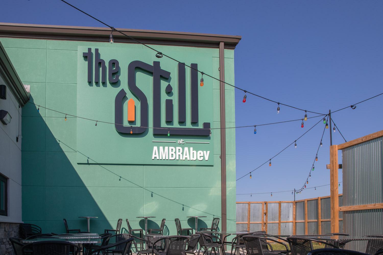 Visit the Still at AMBRAbev - Front Sign Patio.jpg