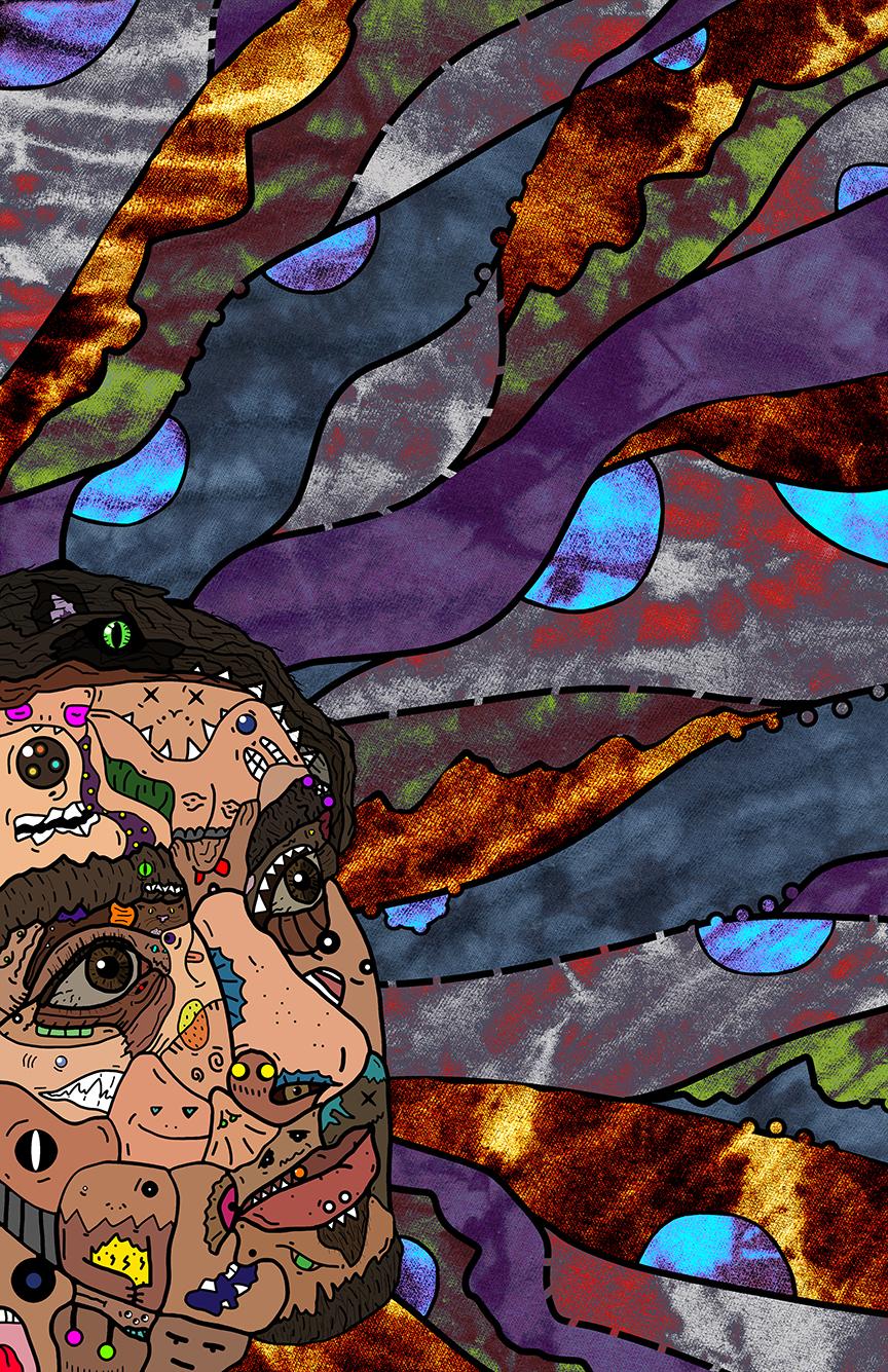 Digital Self-Portrait by Cole Mueting