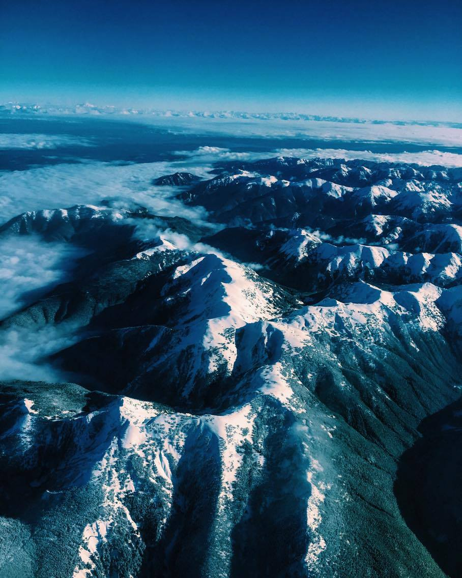 Mountain Range, Washington