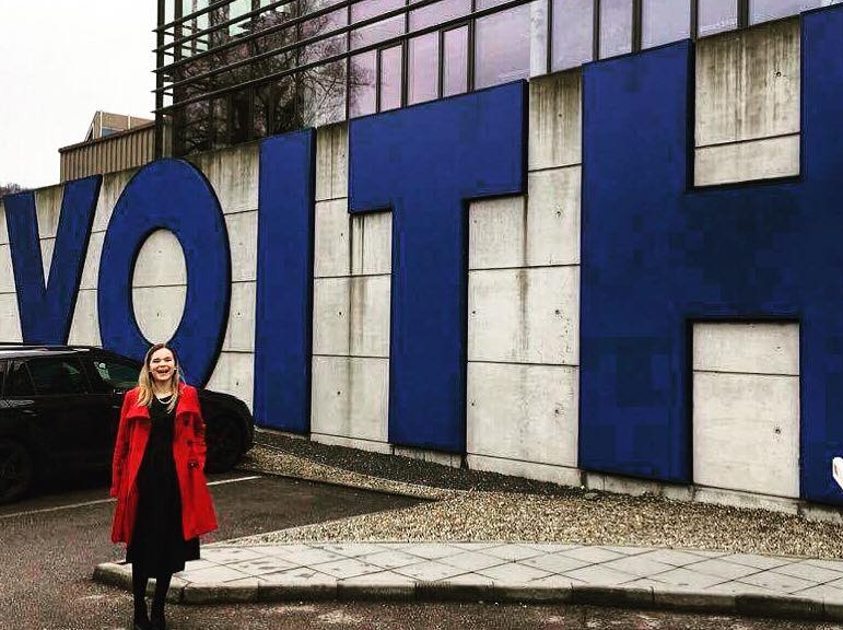 My first month at Voith headquarters in Heidenheim, Germany