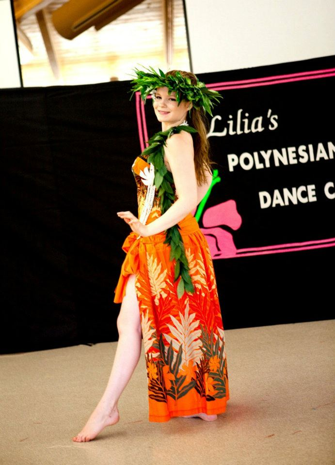 Performing in a volunteer dance show for seniors