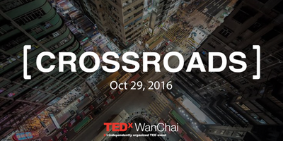 TEDXWanChai Attendee - Attended a TedX series in Hong Kong, which had the theme  'Crossroads'. This topic delved into how the world was changing  -and what we can do to keep pace. I learned a lot about future market trends, as well as the importance of creative problem solving when tackling new challenges.