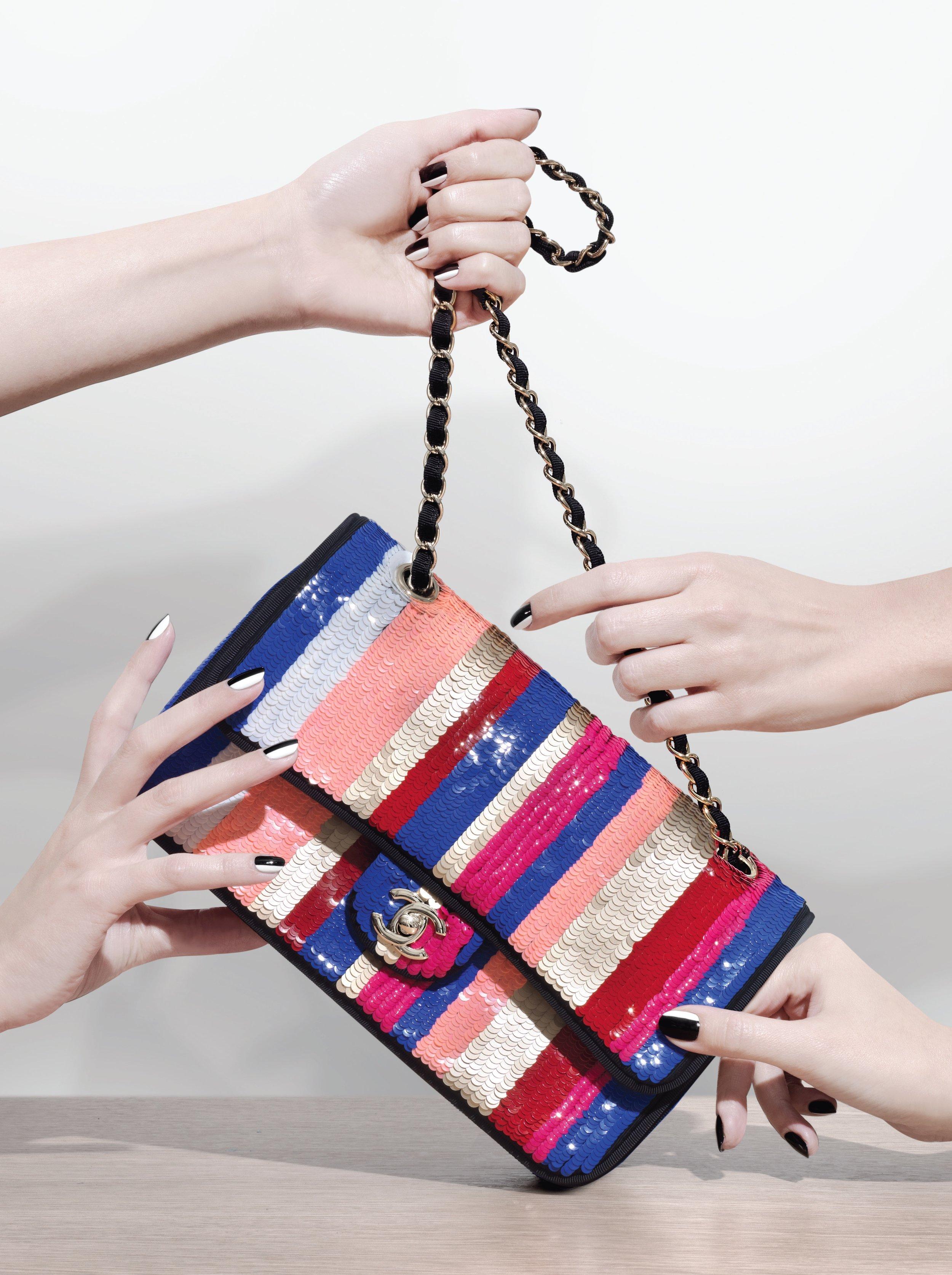 Frame bag in calf leather, £2,320: Prada