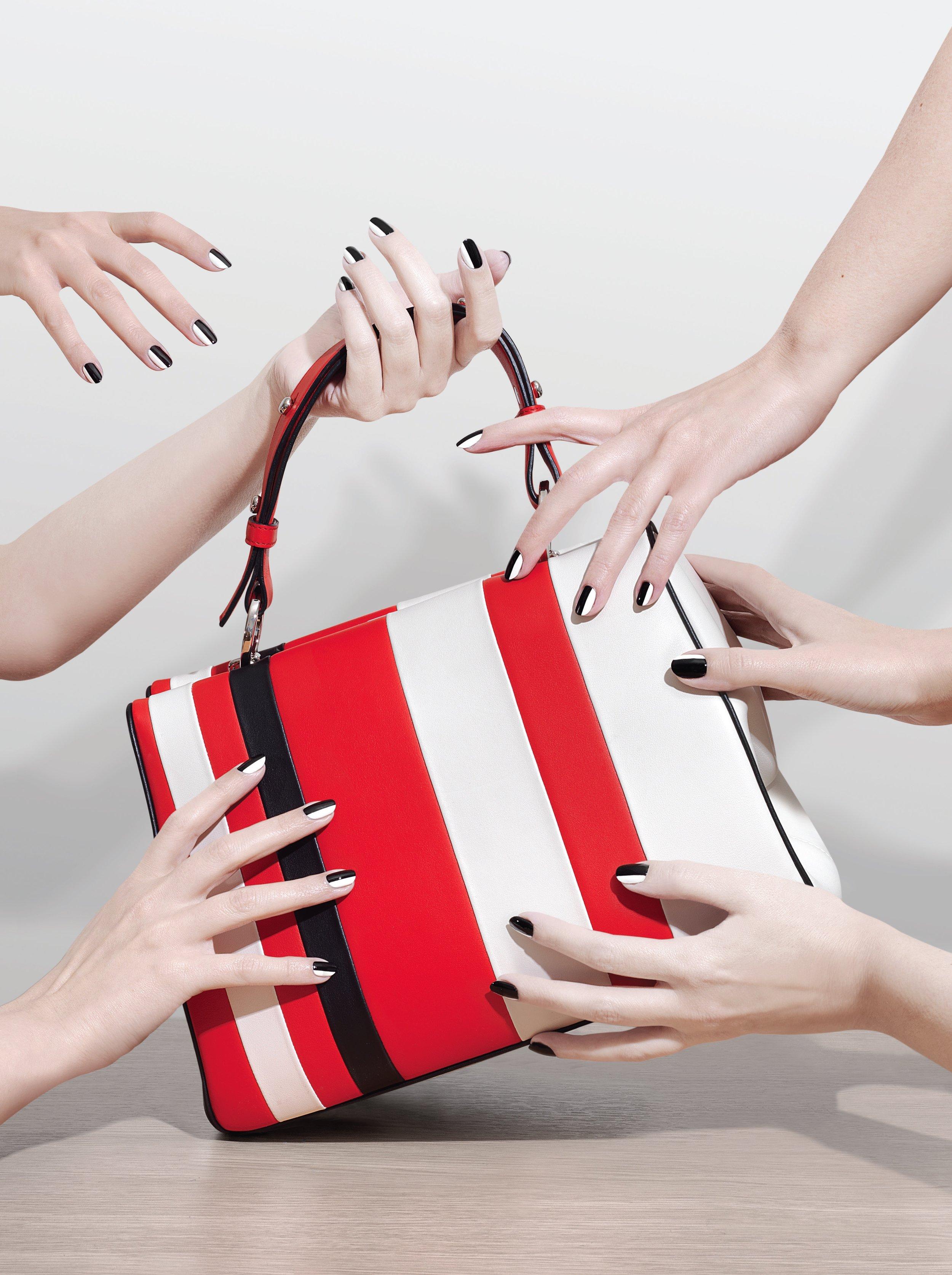 Be Dior bag in multicolour pleated lambskin, £3,500: Dior