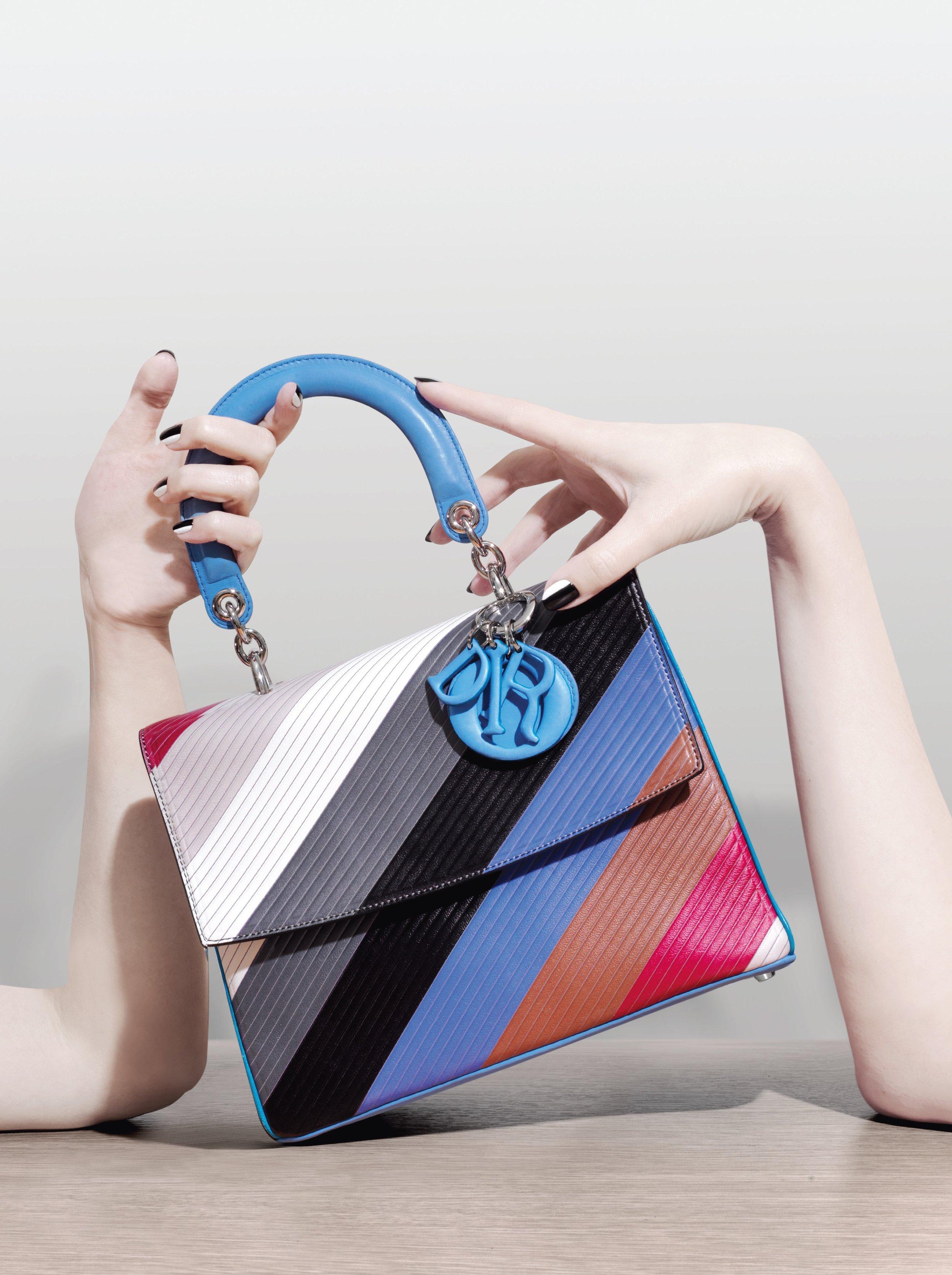 Sequin stripe bag, £11,326: Chanel