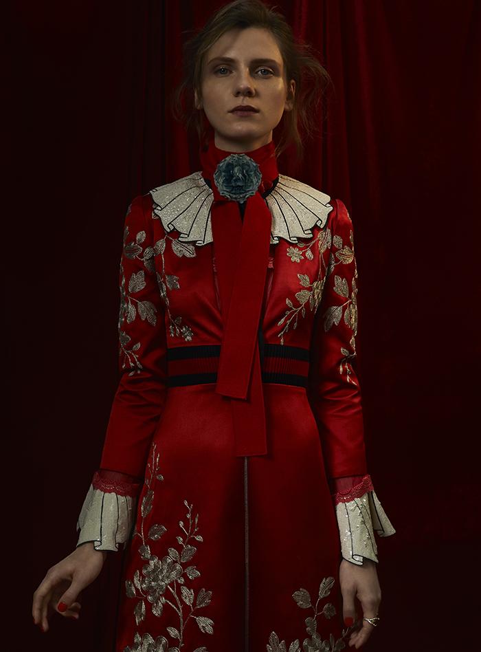 Dress: Gucci