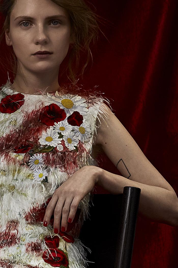 Dress: Dolce & Gabbana