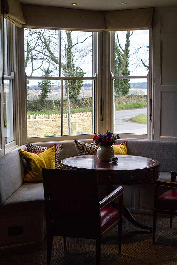 The lounge area at Dormy House