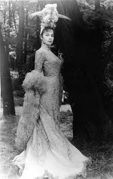 A portrait by Cecil Beaton taken during the filming of Gigi