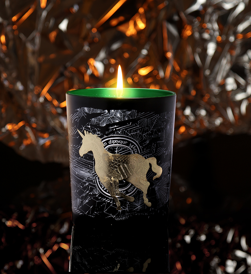 Diptyque Forêt givrée (Frosted Forest) scented candle – £48.00