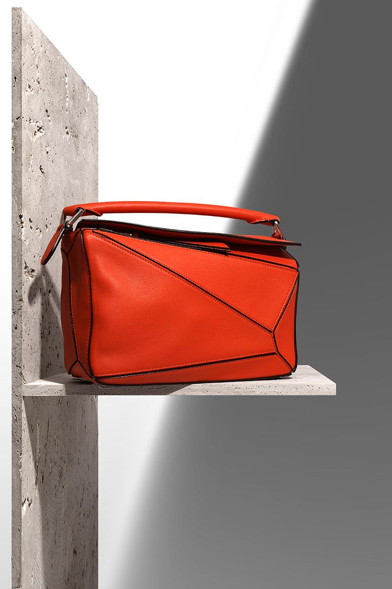 LOEWE  Puzzle  leather bag via mytheresa.com – £1,525.00