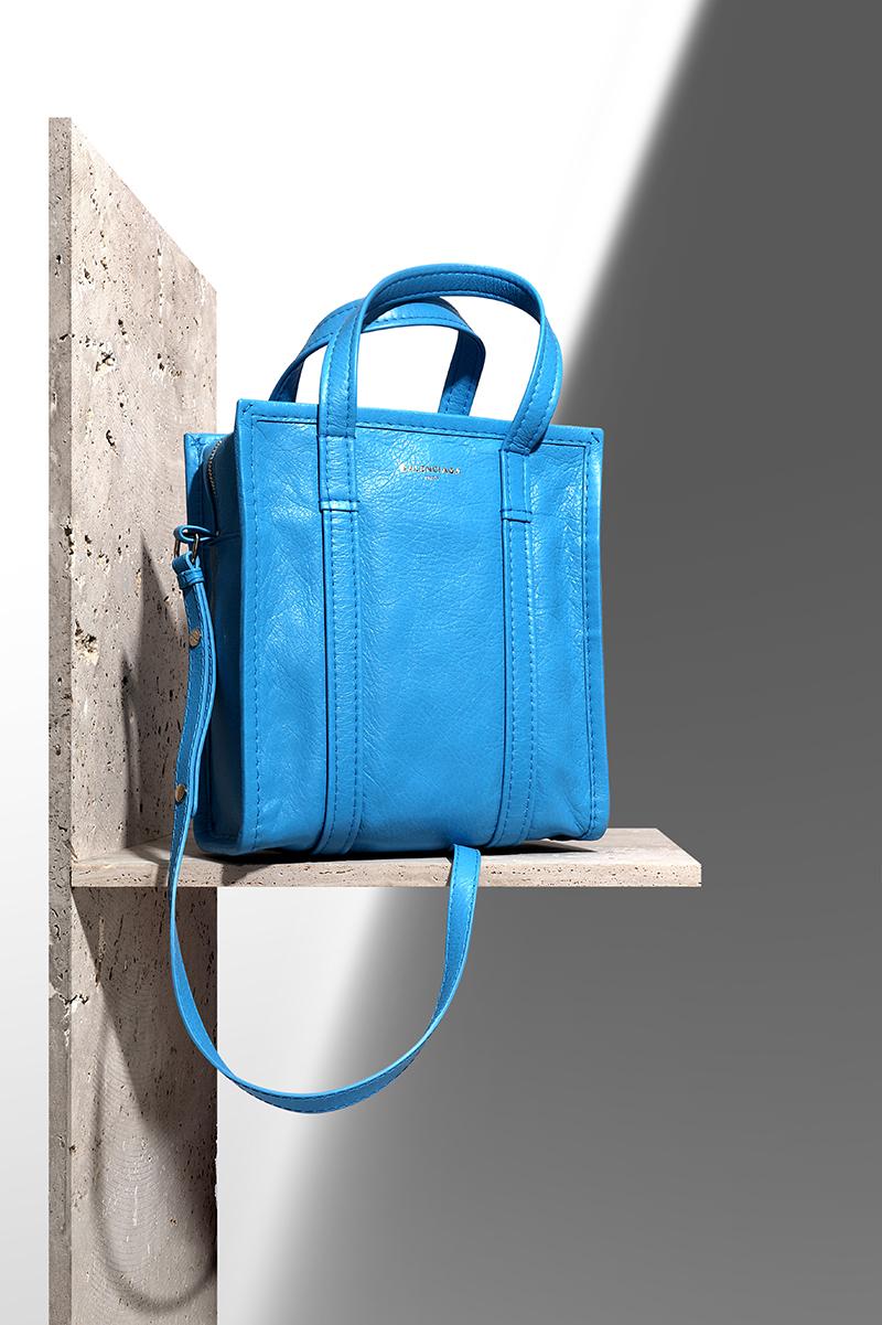 BALENCIAGA Bazar XS leather shopper via mytheresa.com – £725.00