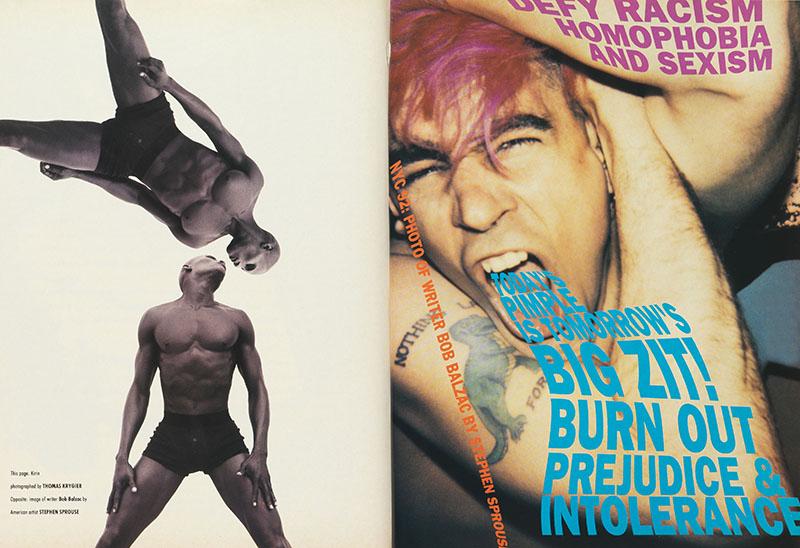 p. 237 (bottom right) 'Love Sees No Colour', vol. 2, no. 44, May 1992.jpg
