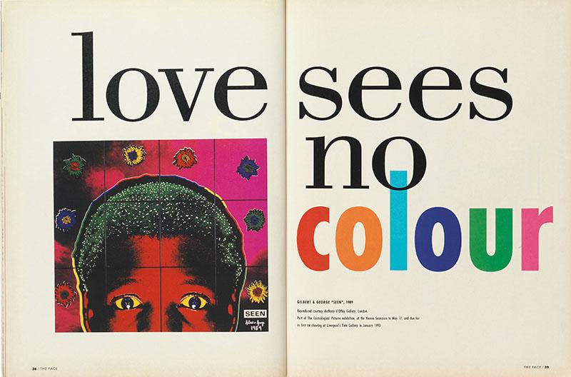 p. 236 (below) 'Love Sees No Colour', vol. 2, no. 44, May 1992.jpg