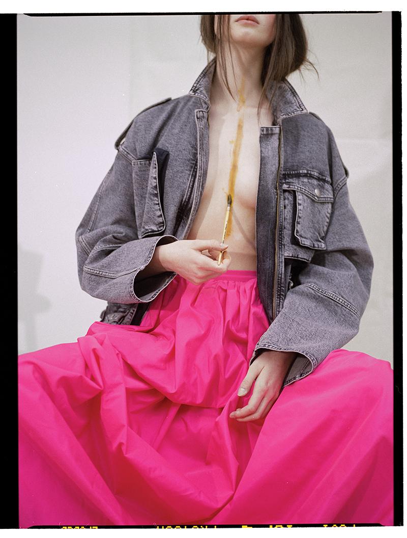 Jacket and skirt: Stella McCartney