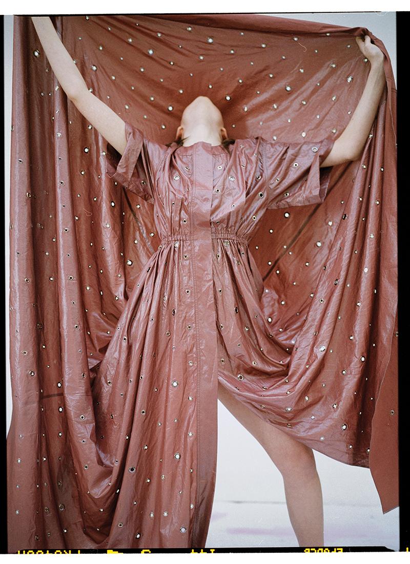 Dress:  Bottega Veneta
