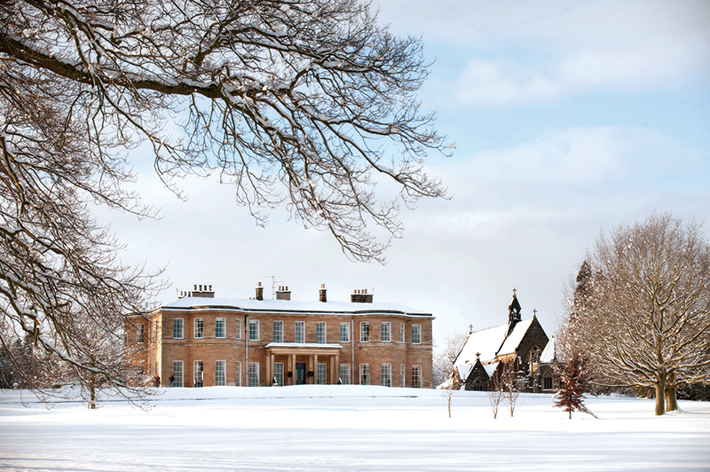 Rudding House Exterior in the snow.jpg