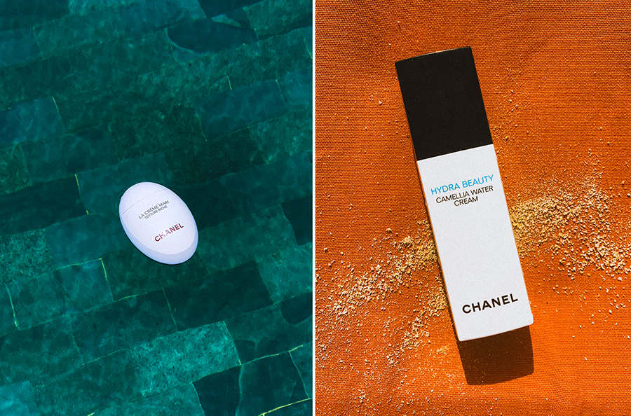 Left:   Chanel  | LA CRÈME MAIN Texture Riche  - £45.00  Right:   Chanel  | Hydra Beauty Camellia Water Cream  - £48.00