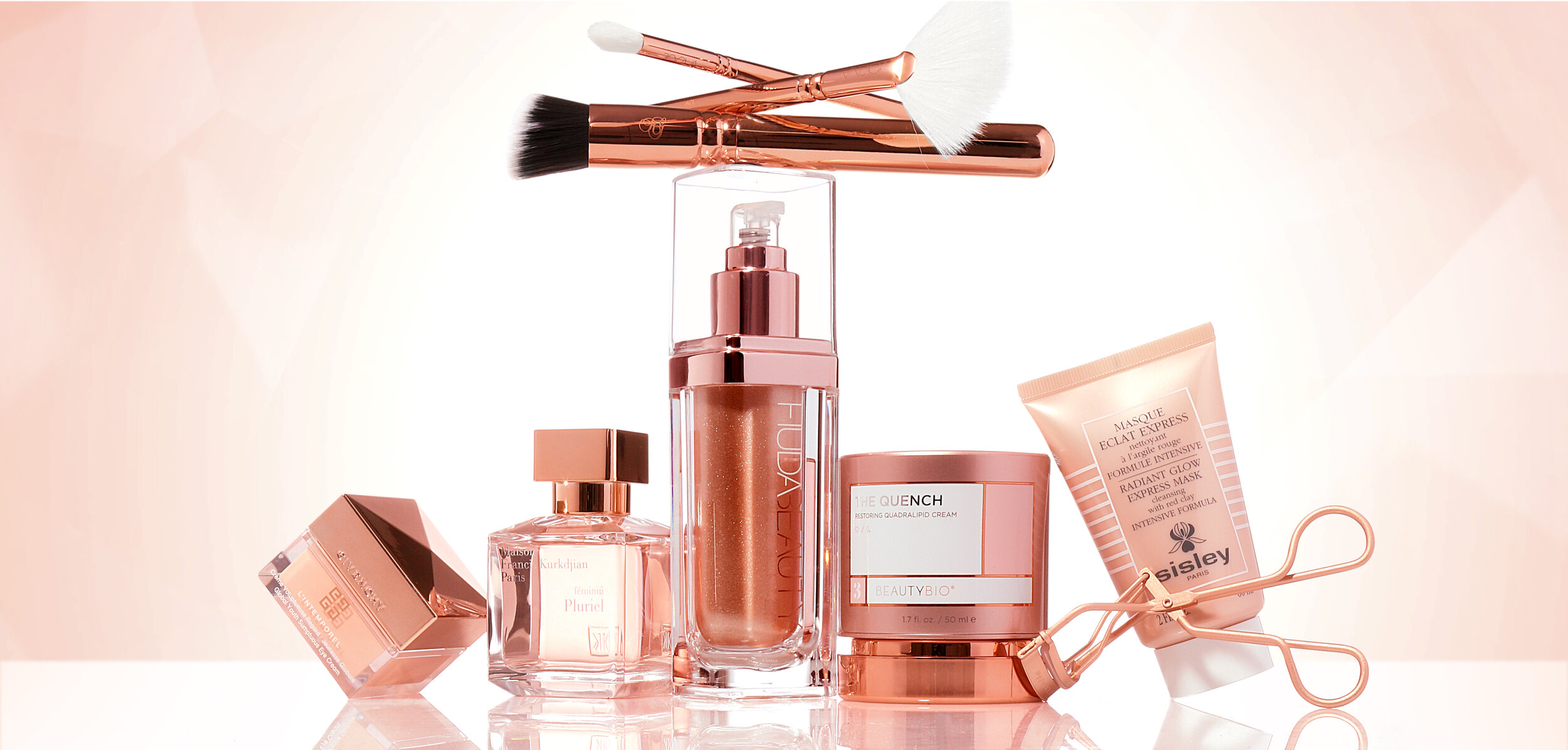 WARMING TO ROSE GOLD - The blushing metallic becomes a classic…