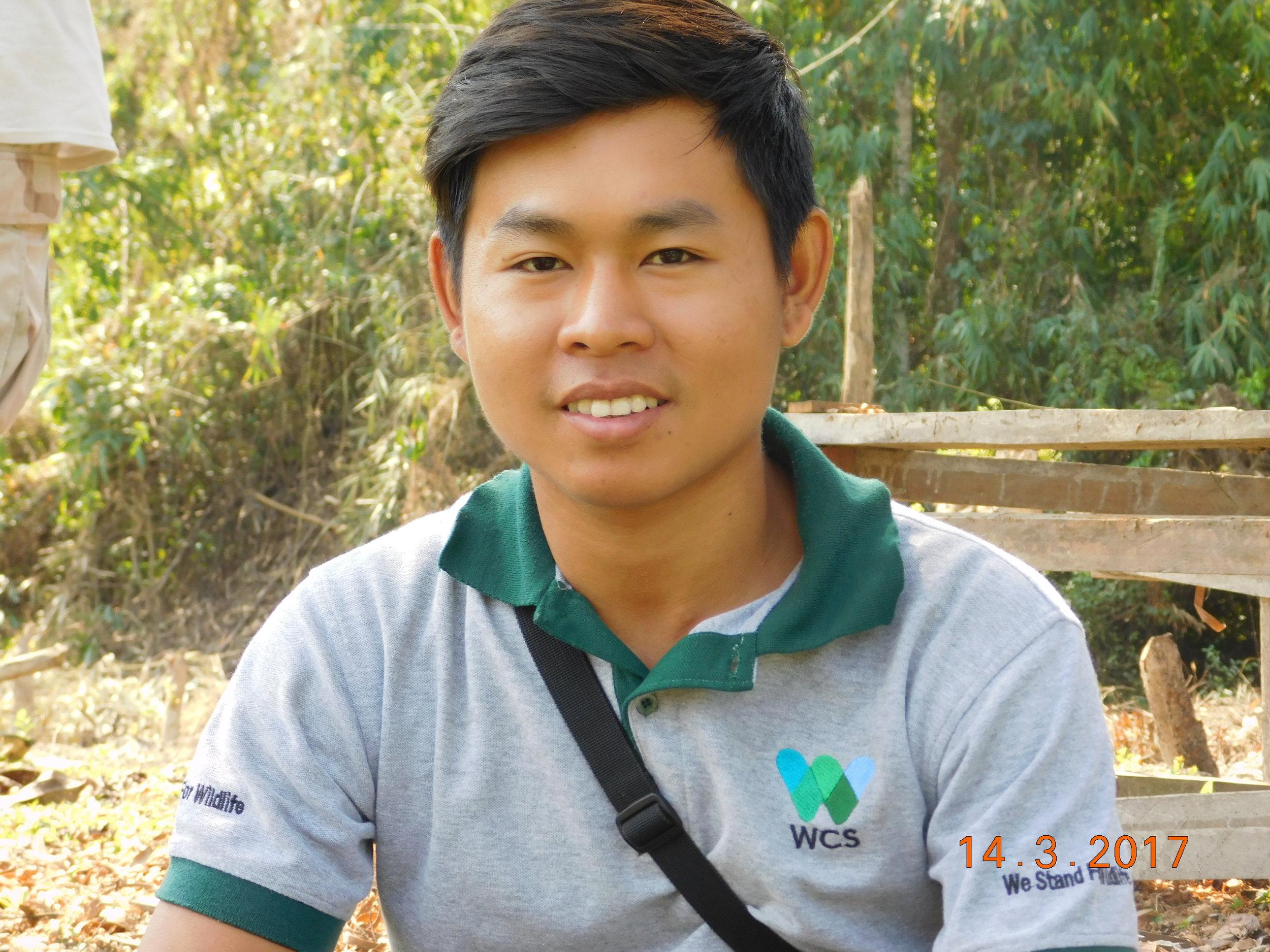 Nay Win Kyaw   Wildlife Conservation Society (Myanmar)
