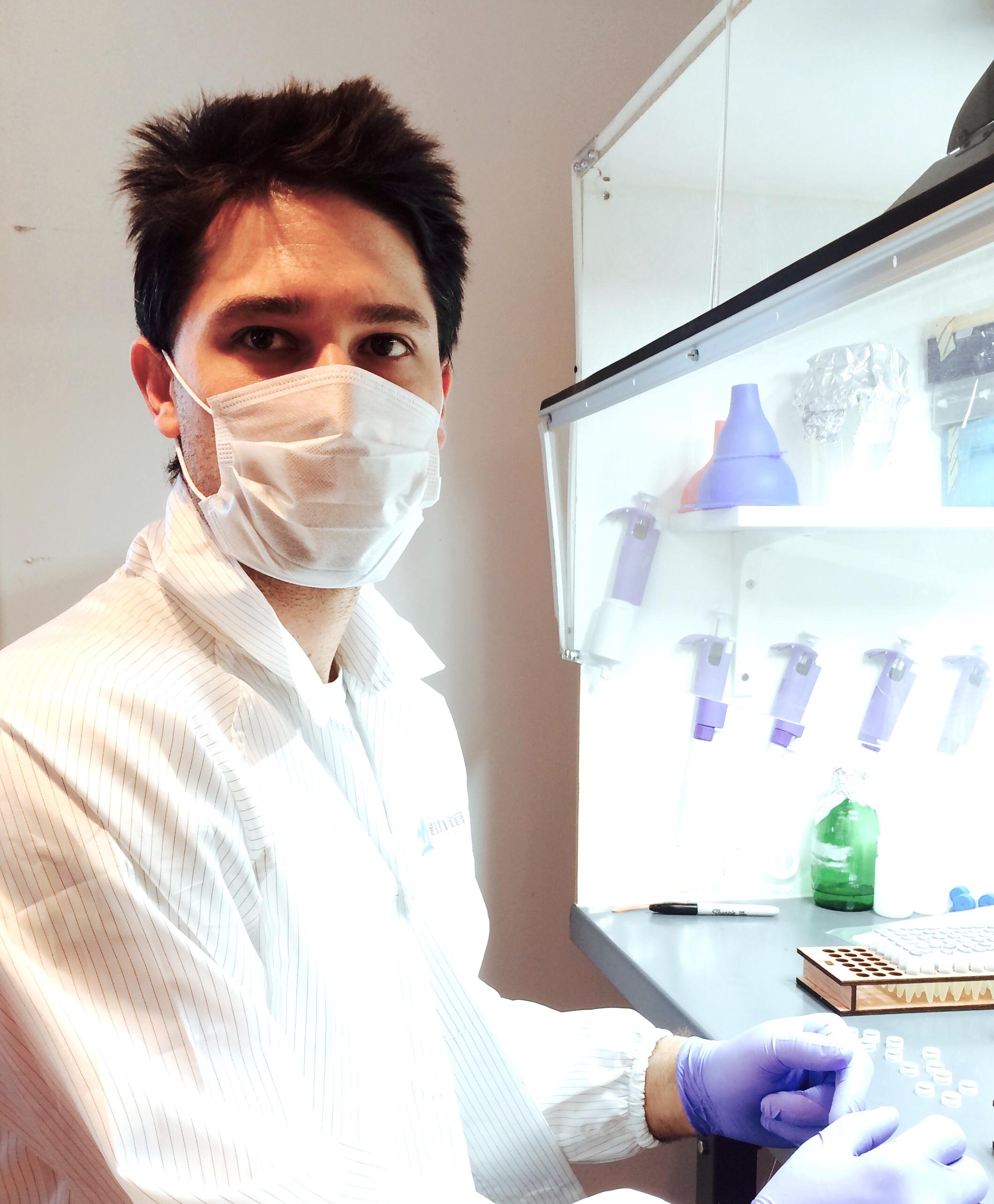 Justin Pahara   Amino Labs (Lethbridge, Alberta, Canada)